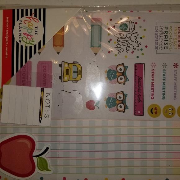 Happy Planner Teacher Planner Accessories